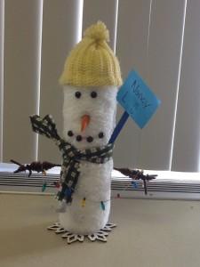 Roller Snowman