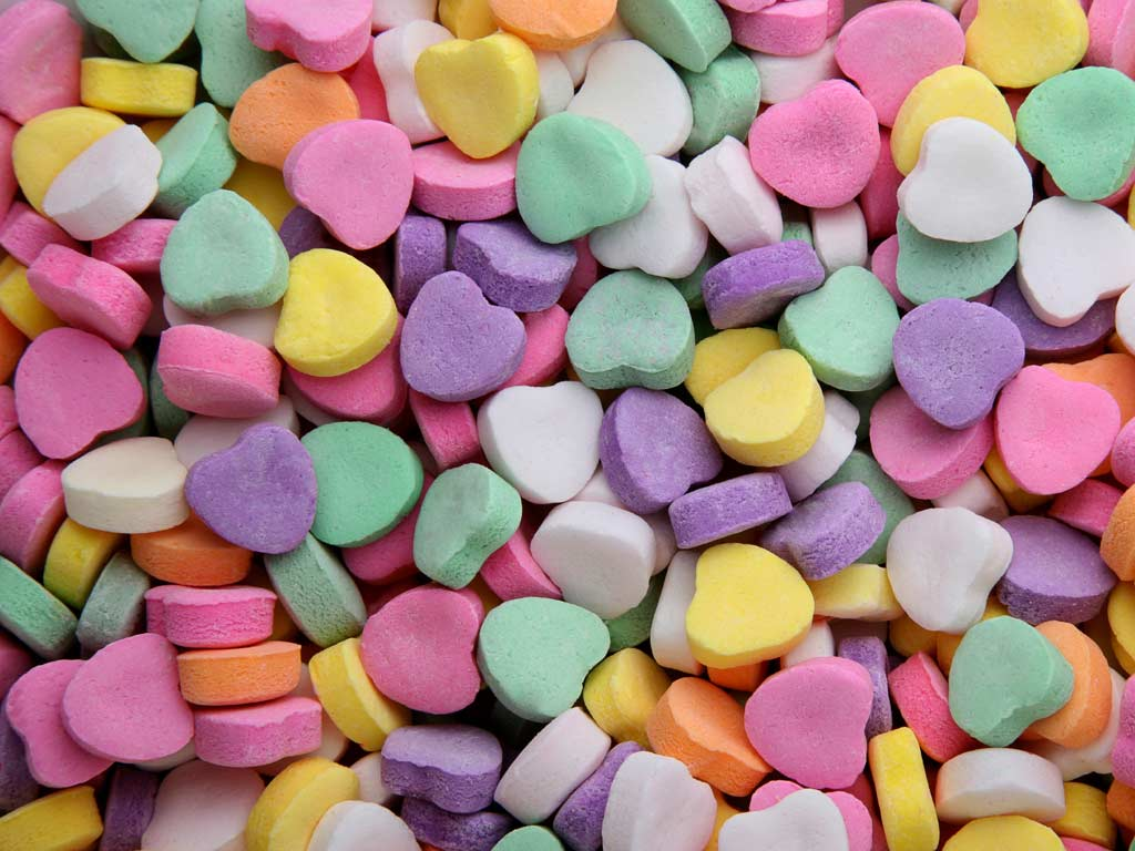 Fesselnd Candy Hearts