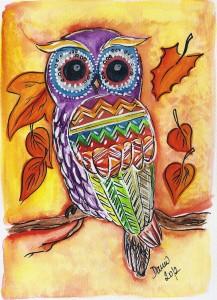 autumn_owl_by_lunicqa-d5fm5f9