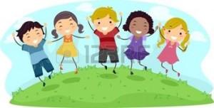 12325608-illustration-von-kids-jumping-mit-glee